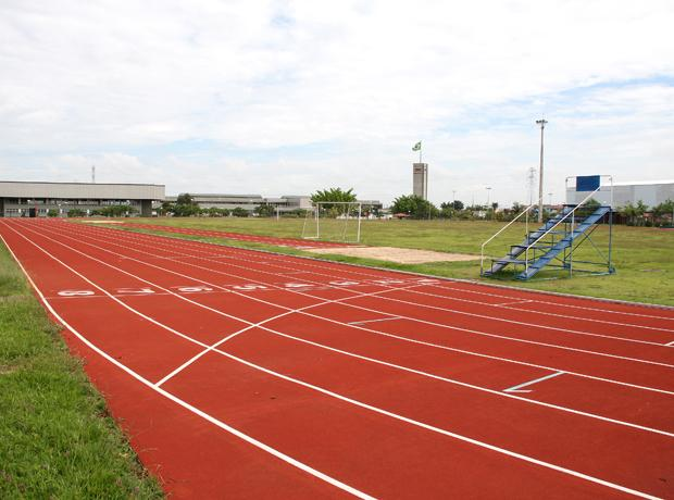 Pista de atletismo do Sesi Piracicaba