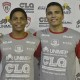 Wesley Moura e Matheus Bahia, reforços do time masculino de handebol do 15 de Piracicaba