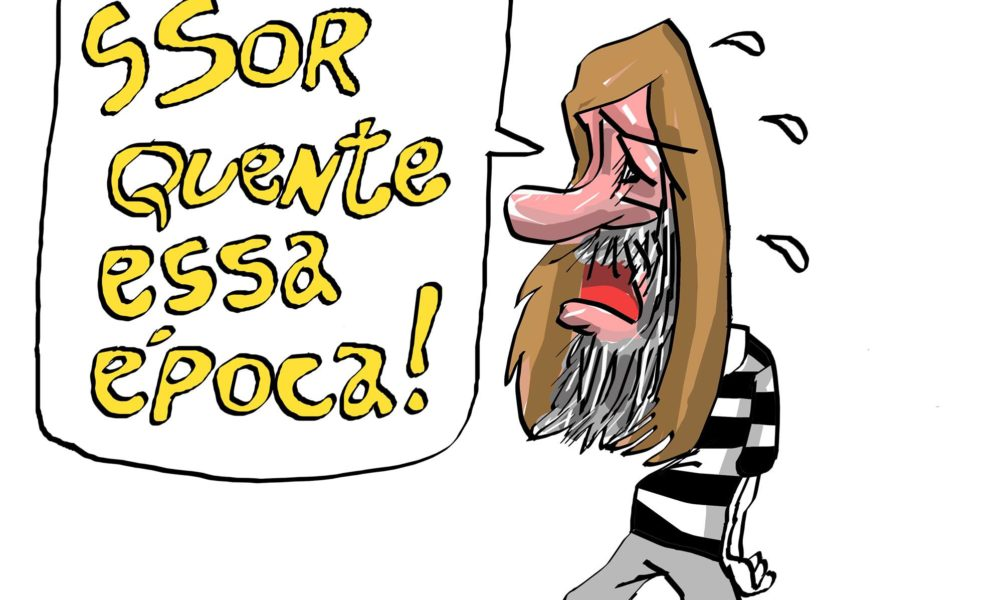 XV de Piracicaba 2x2 Mirassol - Charge do Erasmo