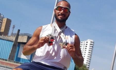 Romenigue Santos, atleta de Piracicaba