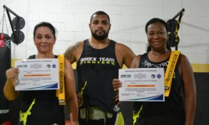 Vera Sarto, Julio Costa e Luciane Teixeira - Brock Team Fighters