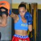 Isabele Almeida, lutadora de Kickboxing da equipe Brock Team Fighters