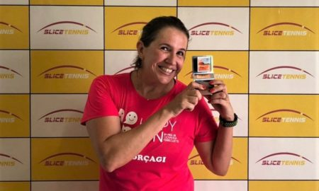 Juliana Machado, atleta de tênis do Clube de Campo de Piracicaba