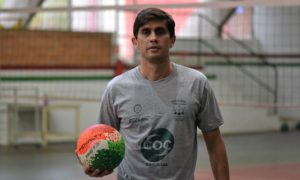Rosalvo Gonsalves Junior, coordenador do projeto de voleibol do Cristóvão Colombo
