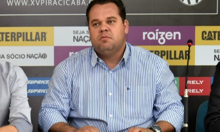 Ricardo Moura, vice-presidente do XV de Piracicaba