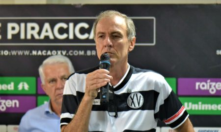 Arnaldo Bortoletto, presidente do XV de Piracicaba