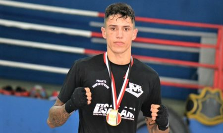 Marcos Alves, atleta de kickboxing da Alves Team Fight