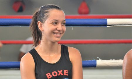 Julia Alves, pugilista do Centro Esportivo MR