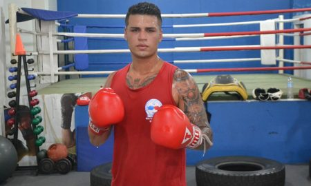 Ramon Batagello, pugilista do Centro Esportivo MR Piracicaba