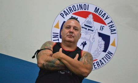 Luis Reginaldo Pezzato, técnico da equipe In Fight Régis Muay Thai