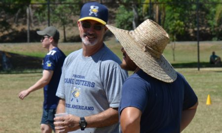 Luiz Franco, head coach do Piracicaba Cane Cutters