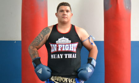 Giovane Proença, lutador de muay thai do CT In Fight Piracicaba