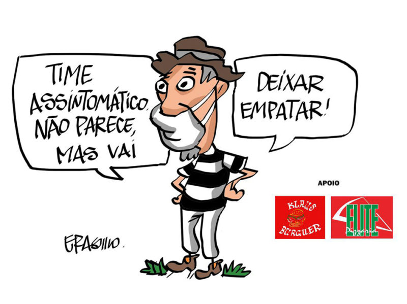 XV de Piracicaba 2x2 Votuporanguense - Charge do Erasmo