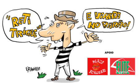 XV de Piracicaba 3x2 Portuguesa - Charge do Erasmo
