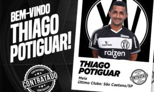 Thiago Potiguar, meia do XV de Piracicaba