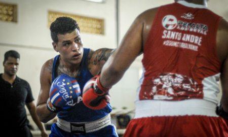 Ramon Batagello, pugilista do Centro Esportivo MR