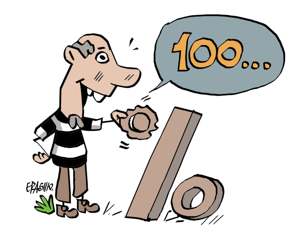 Charge do Erasmo - XV de Piracicaba 3x2 Velo Clube